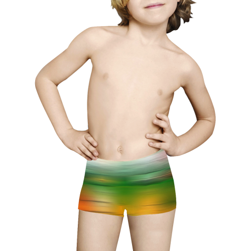 noisy gradient 3 by JamColors Kids' All Over Print Boxer Briefs (Model L24)