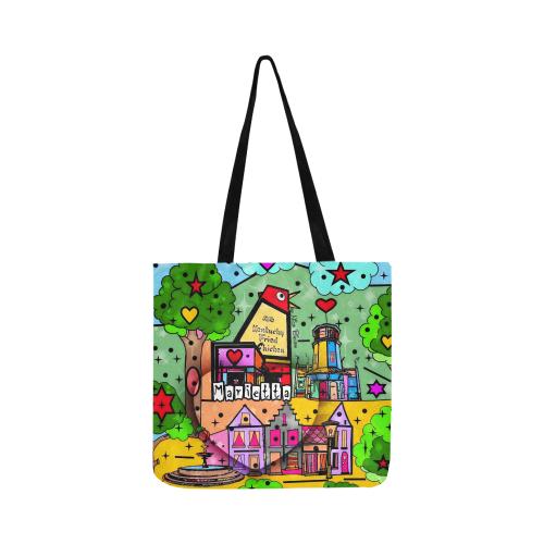 Marietta 2020 Pop Art by Nico Bielow Reusable Shopping Bag Model 1660 (Two sides)