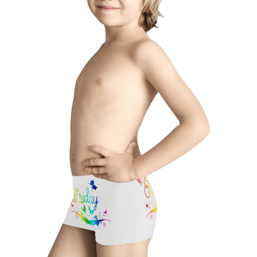 Butterfly Friday Kids' All Over Print Boxer Briefs (Model L24)