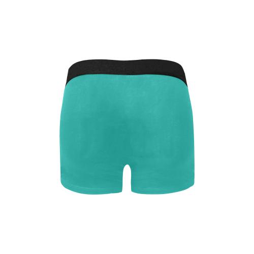color light sea green Men's All Over Print Boxer Briefs (Model L34)