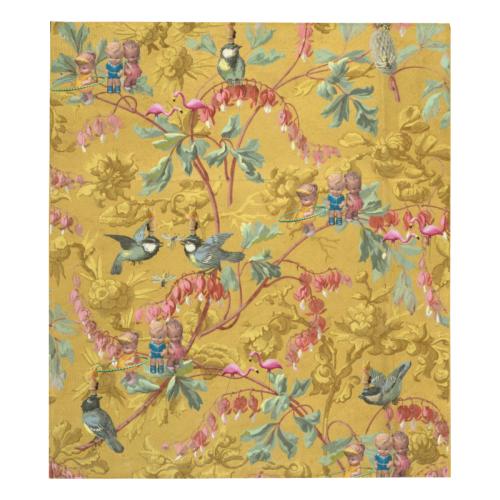"Hooping in the Spring Garden Quilt 70""x80"""