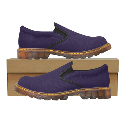 violet Martin Women's Slip-On Loafer/Large Size (Model 12031)