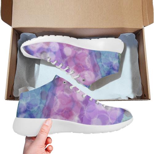 AQUARELL BUBBLES LADYLIKE SPORT SPORT Women's Basketball Training Shoes (Model 47502)