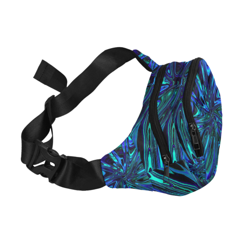 new fractal 717A by JamColors Fanny Pack/Small (Model 1677)