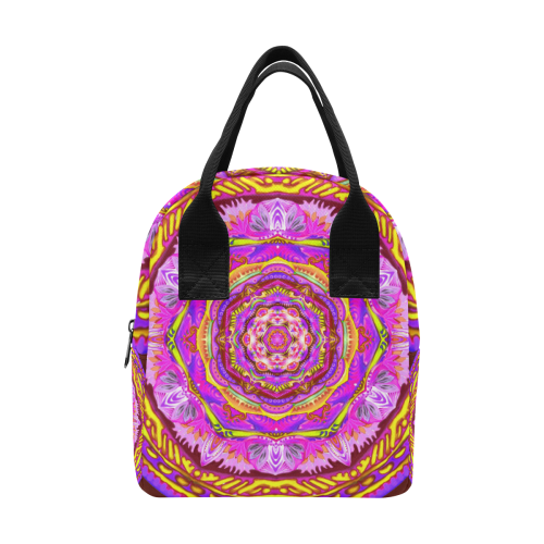 mandala tendre6 Zipper Lunch Bag (Model 1689)