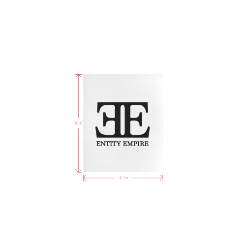 EntityEmpireLogotoptag Private Brand Tag on Tops (4cm X 5cm)
