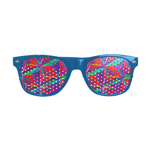 Vivid Life 1A by JamColors Custom Goggles (Perforated Lenses)