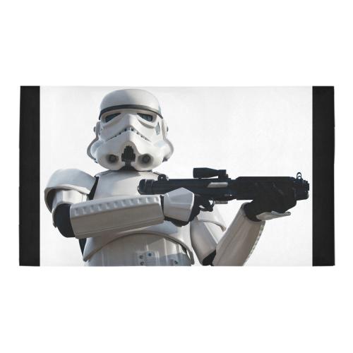 Stormtrooper Patrol w/ Black Edges Bath Rug 16x28 Bath Rug 16''x 28''