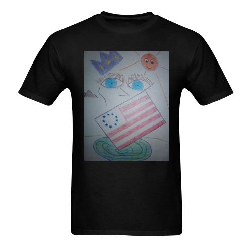 Ooohnice USA Designs Men's T-shirt in USA Size (Front Printing Only) (Model T02)