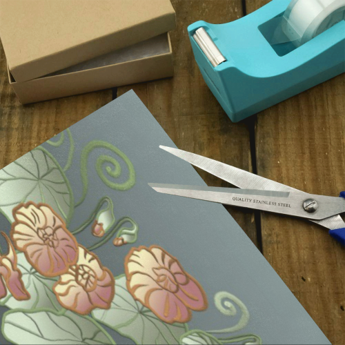 """Floral Art Nouveau Gift Wrapping Paper 58""""x 23"""" (1 Roll)"""
