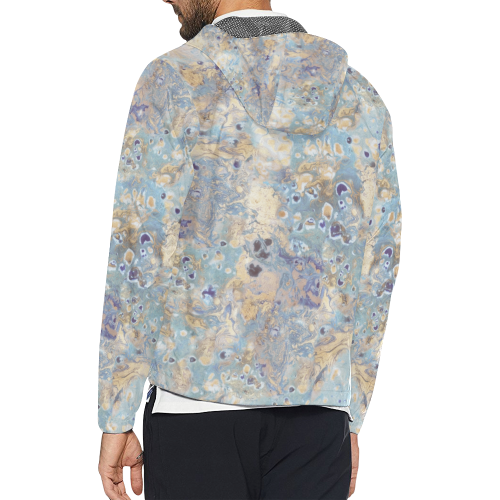 marbling 8 Unisex All Over Print Windbreaker (Model H23)