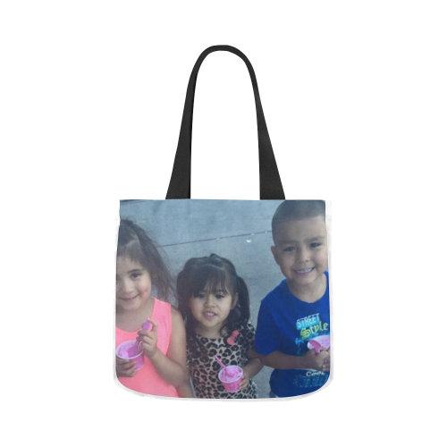 LEAH KIDS  DDD Canvas Tote Bag 02 Model 1603 (Two sides)