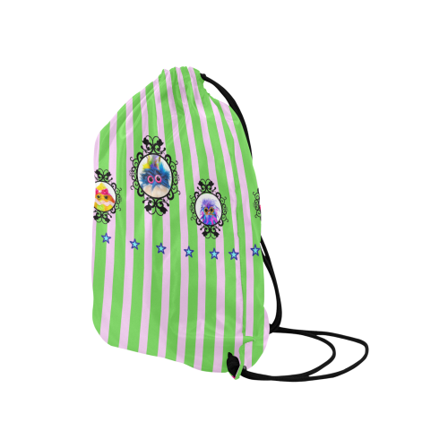 "Formation1 Medium Drawstring Bag Model 1604 (Twin Sides) 13.8""(W) * 18.1""(H)"