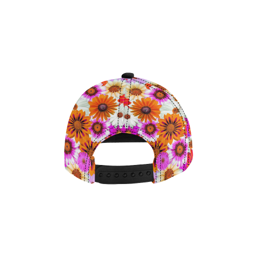 Spring Time Flowers 2 All Over Print Snapback Hat D