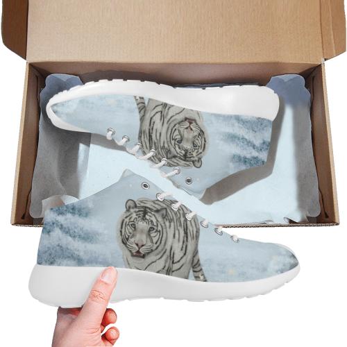 Wonderful siberian tiger Men's Basketball Training Shoes (Model 47502)