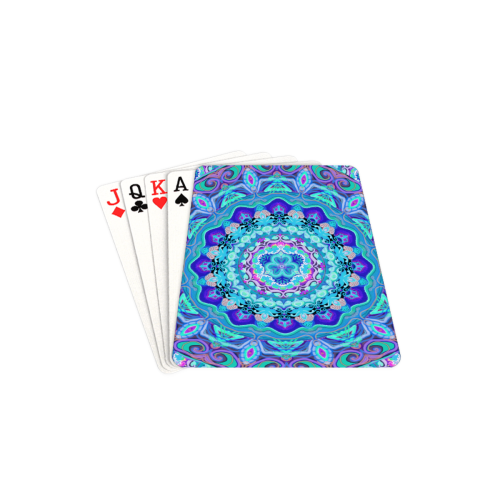 "russian mandala 24 Playing Cards 2.5""x3.5"""