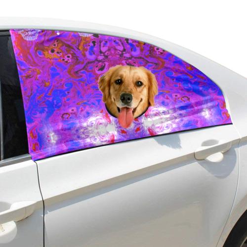 placemat 6 Pet Car Window Curtain