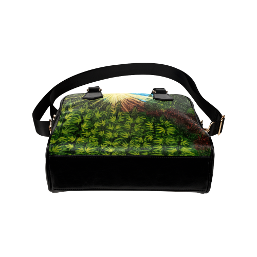Sun & flowers are the Best Medicine Shoulder Handbag (Model 1634)