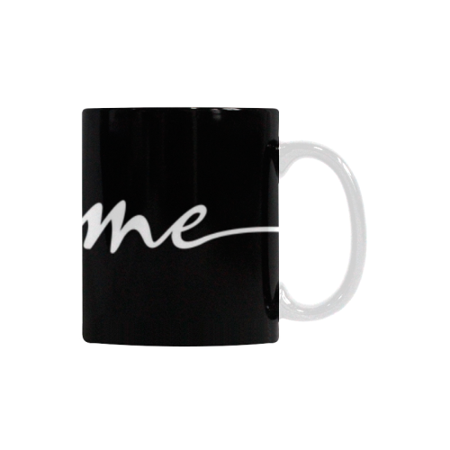 Romantic je t'aime - french love - white Custom White Mug (11OZ)