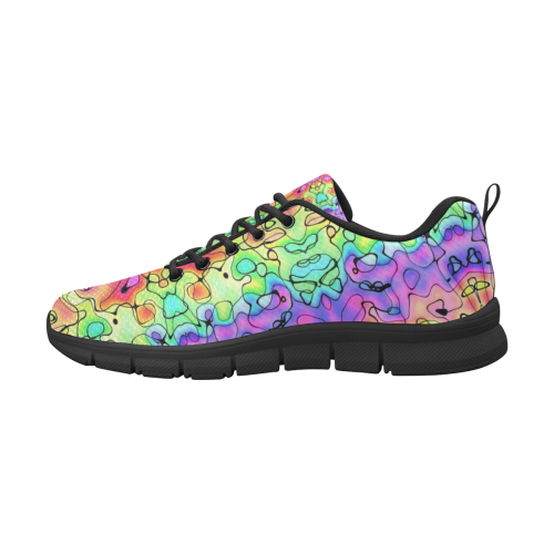 Squirlie 7K Women's Breathable Running Shoes/Large (Model 055)