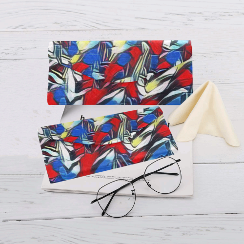 abstract joy 8 by JamColors Custom Foldable Glasses Case