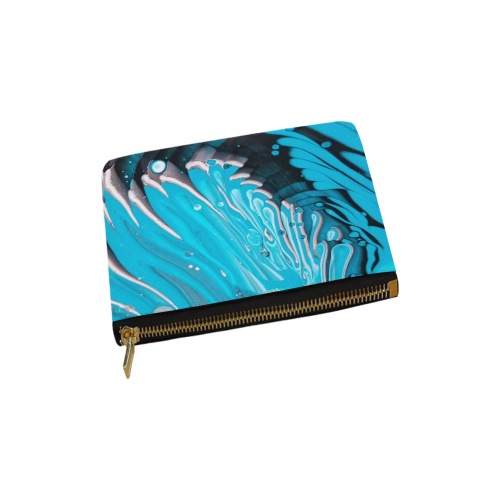 gemini bleu Carry-All Pouch 6''x5''