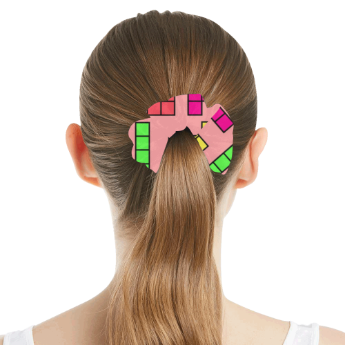 Games by Nico Bielow All Over Print Hair Scrunchie