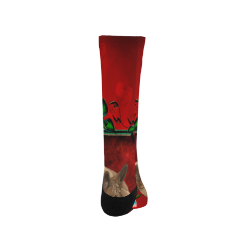 Wonderful german shepherd Trouser Socks (For Men)