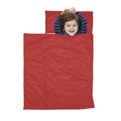 color firebrick Kids' Sleeping Bag