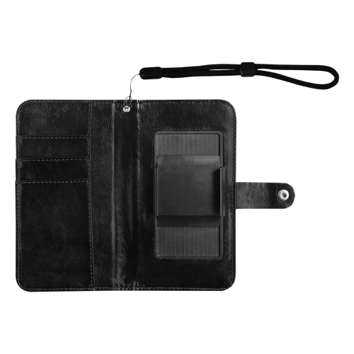 Squirlies 7000px Flip Leather Purse for Mobile Phone/Large (Model 1703)
