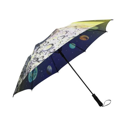 Trip to Space Umbrella Semi-Automatic Foldable Umbrella (Model U05)