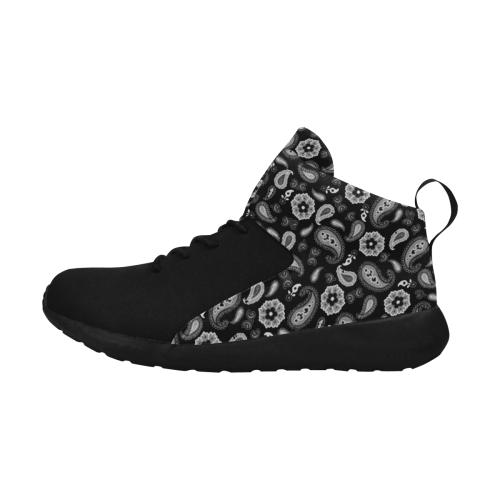 Black on Black Men's Chukka Training Shoes (Model 57502)