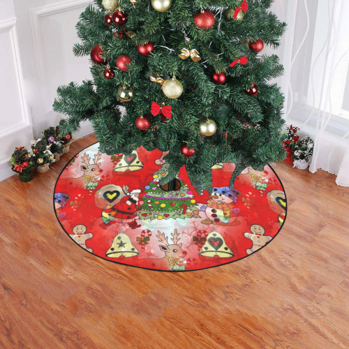 "Christmas by Nico Bielow Christmas Tree Skirt 47"" x 47"""