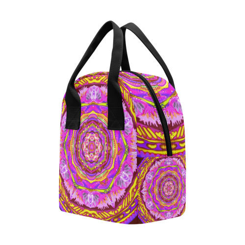mandala tendre6 Insulated Zipper Lunch Bag (Model 1689)