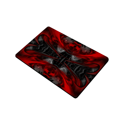 "xxsml Red Rave Crew Doormat 24""x16"""