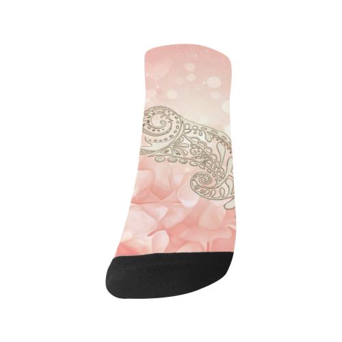 Wonderful flowers Men's Ankle Socks