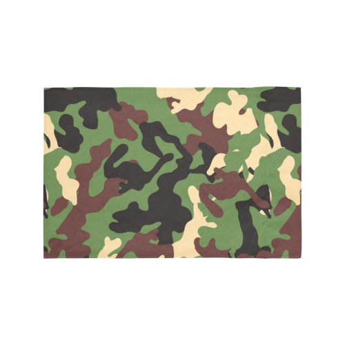 Army Camo Motorcycle Flag (Twin Sides)