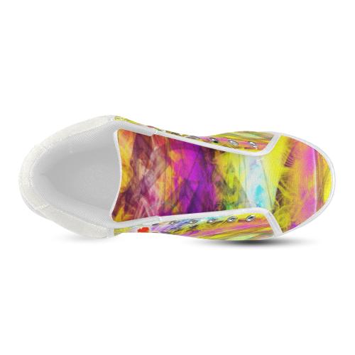 MYSTIC UNIVERSE 11 Men's Chukka Canvas Shoes (Model 003)