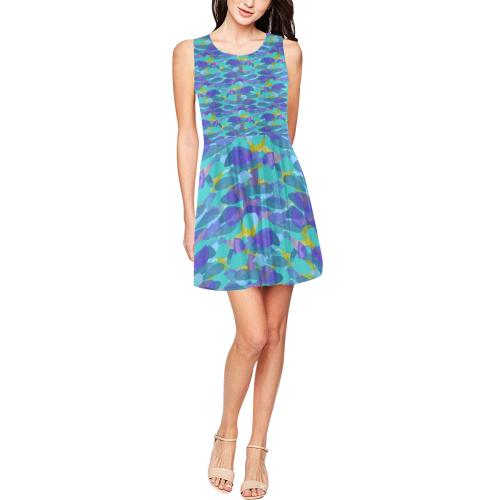 zappwaits  trendy 03 Thea Sleeveless Skater Dress(Model D19)