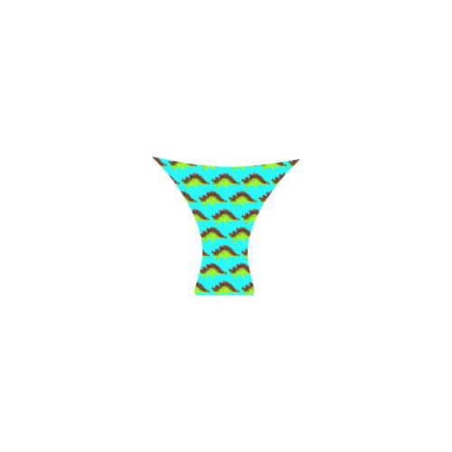 dinostripessky bikini Custom Bikini Swimsuit (Model S01)
