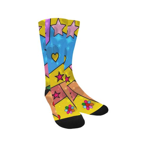 Popart by Nico Bielow Trouser Socks (For Men)