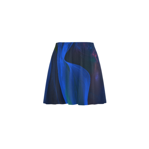 Fractal Art z29 Mini Skating Skirt (Model D36)