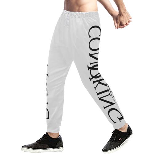 Convoking Positive Energy Men's All Over Print Sweatpants/Large Size (Model L11)