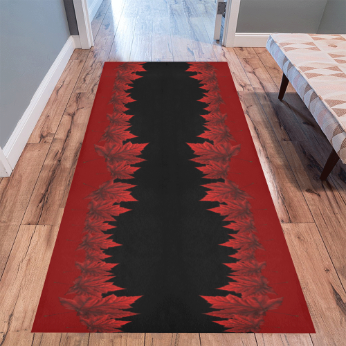 Red Maple Leaf Area Rugs Canada