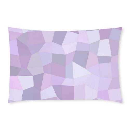 Pastel Purple Mosaic 3-Piece Bedding Set