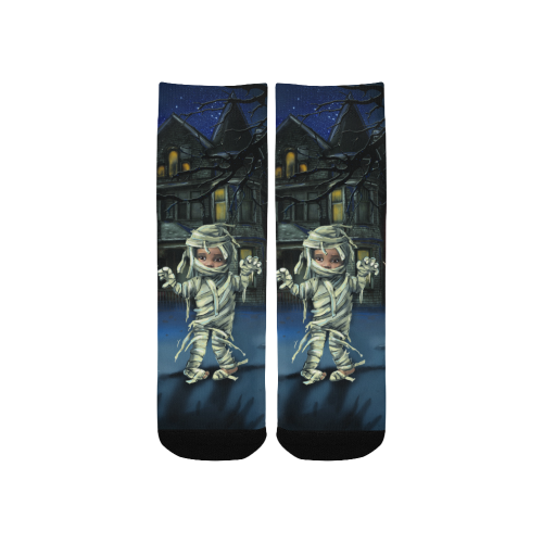 haunted house socks Custom Socks for Kids