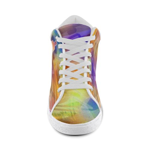 MYSTIC UNIVERSE 12 Men's Chukka Canvas Shoes (Model 003)