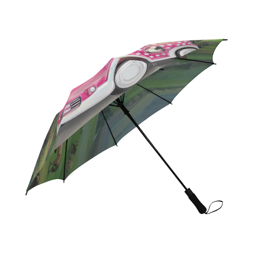 Road Trip Umbrella Semi-Automatic Foldable Umbrella (Model U05)