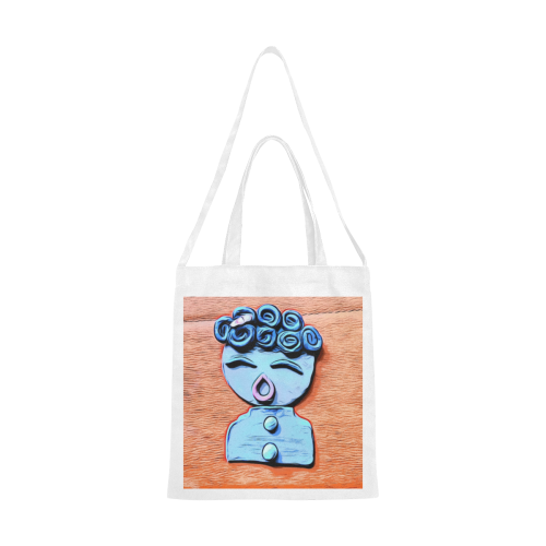 Oh Me Canvas Tote Bag/Medium (Model 1701)