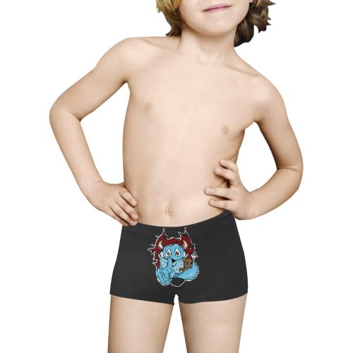 monsterhinten Kids' All Over Print Boxer Briefs (Model L24)